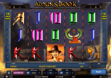 Amuns Book Online Slot