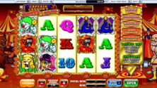 Captain Cannons Circus Of Cash Online Slot