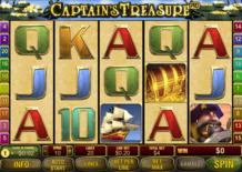 Captains Treasure Pro Online Slot