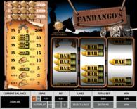 Fandango S 3 Reels Online Slot