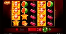 Fruits Jokers 40 Lines Online Slot