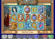 Jewels Of Atlantis Online Slot