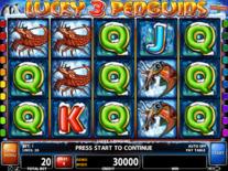 Lucky 3 Penguins Online Slot