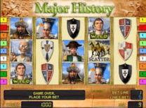 Major History Online Slot