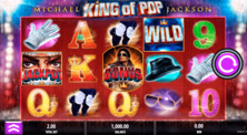 Michael Jackson King Of Pop Online Slot