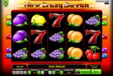 New Crazy Seven Online Slot