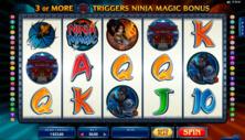 Ninja Magic Online Slot