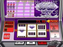 Progressive Diamond Jackpot Online Slot