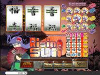 Rising Sun 3 Reels Online Slot
