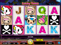 Tokidoki Lucky Town Online Slot