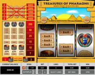 Treasures Of The Pharaohs Online Slot