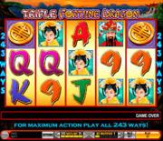 Triple Fortune Dragon Online Slot