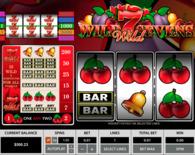 Wild Sevens 3 Reels Online Slot